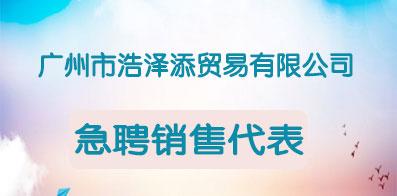 广州市浩泽添贸易有限公司