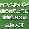 南京欣城房地产经纪有限公司白鹭东街分公司